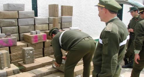 4 narcotrafiquants arrêtés et saisie de 374 kg de kif traité à Tlemcen