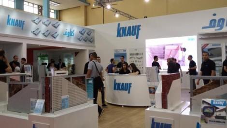 L'usine Knauf Oran : 150.000 tonnes de plâtre et 1.6 million de m2 de plaques de plâtre produits en 2017