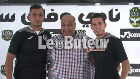 ESS : Zeghba et Aïboud  signent pour deux ans