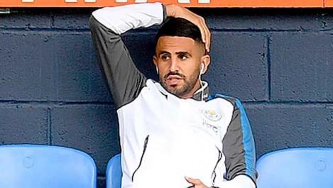 Mahrez, bien  parti pour rester à Leicester