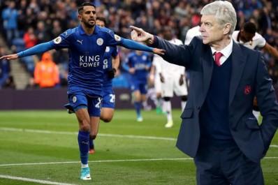 Wenger ignore Mahrez et  ne retient pas Bennacer