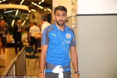 Leicester ne veut rien entendre pour Riyad Mahrez