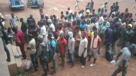 Ils de disputent l'aumône à Mostaganem: Retour en masse des ressortissants africains