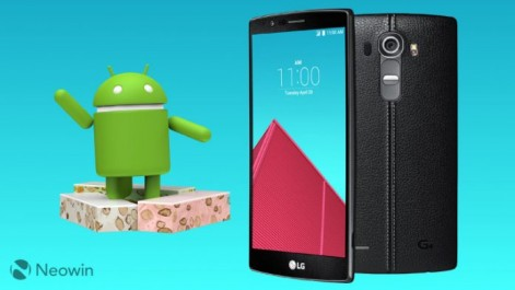 LG G4 : La mise à jour Nougat est enfin disponible.
