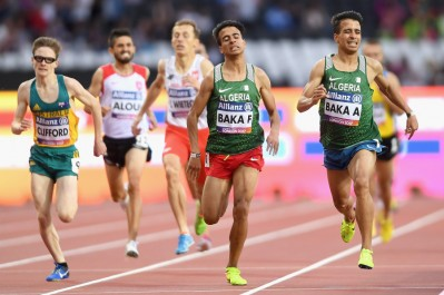 Mondiaux de Handisport: les frères Baka sur les 2 premières marches du podium au 1500 m