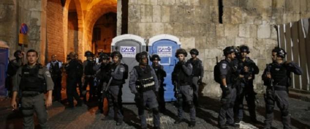 Jérusalem: les hommes de moins de 50 ans interdits d'accès à la vieille ville