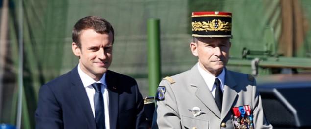 France: démission du chef d'état-major des armées, en conflit avec Macron