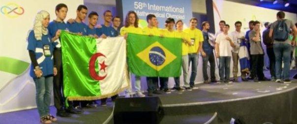 Olympiades de mathématiques à Rio: une médaille de bronze pour l'Algérie