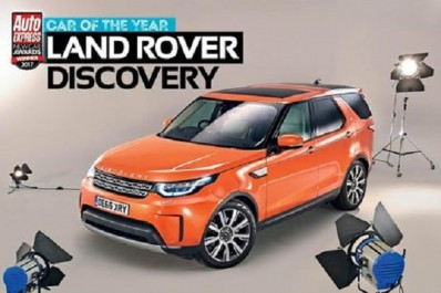 Auto Express New Car Awards : Land Rover Discovery élu « Car of the Year » par Auto Express