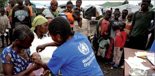 OMS : un enfant sur dix toujours pas vacciné dans le monde