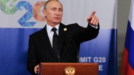 G20: Poutine fustige les sanctions contre la Russie