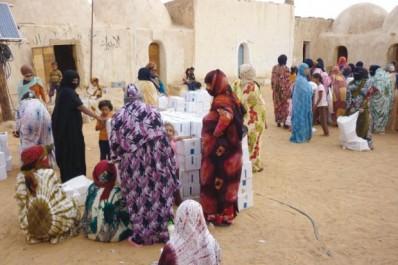 Programme PAM d'aide aux réfugiés Sahraouis à Tindouf: Le gouvernement allemand fait don d'un million de dollars