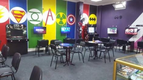 Ouverture d'une salle de jeux d'arcades et VR à Alger