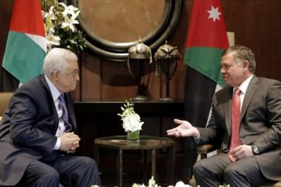 Palestine: Abdallah de Jordanie rend visite à Abbas à Ramallah