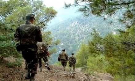 2 caches pour terroristes contenant 34 mines, des substances explosives des munitions découvertes à Médéa (MDN)