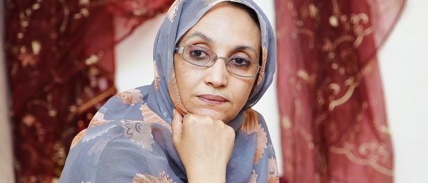 Aminatou Haidar anime une conférence à l'ambassade de la RASD à Alger: «Personne ne voulait voir la réalité des crimes commis au Sahara occidental !»