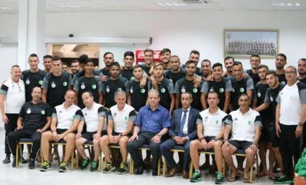 CHAN 2018 : El Hadi Ould Ali rend visite à l'équipe nationale