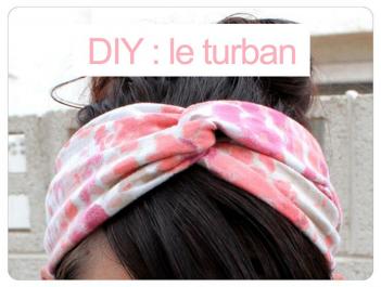 DIY: Le turban très tendance à faire soi-même
