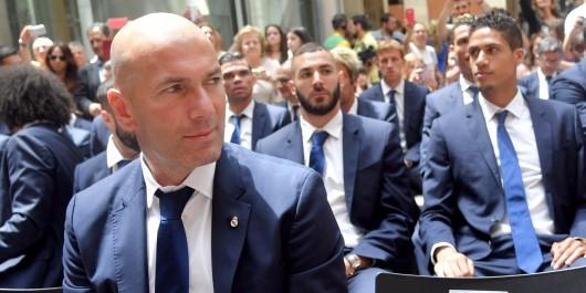 Foot : Zidane en lice pour le titre de meilleur entraîneur Fifa de l'année