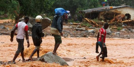 Inondations en Sierra Leone : 105 enfants parmi les victimes