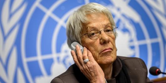 """Syrie: Carla Del Ponte : """"Assez de preuves pour condamner El-Assad"""""""