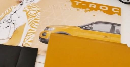 Volkswagen Group : Nouveau teaser-vidéo du Volkswagen T-Roc