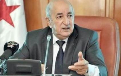 Abdelmadjid Tebboune reçu par son homologue français à Paris