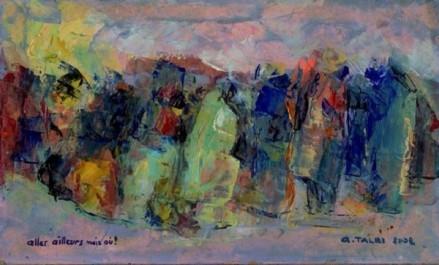 Le plasticien Akacha Talbi expose 50 ans de carrière artistique