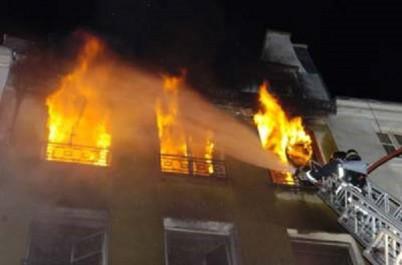 Relizane: Un appartement prend feu