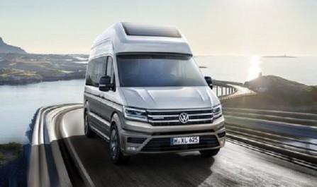 Volkswagen Group : Concept camping-car California XXL basé sur le Crafter