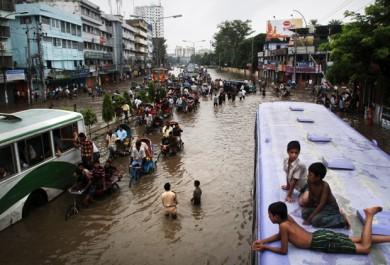 Inondations en Inde, Népal et Bangladesh: plus de 220 morts