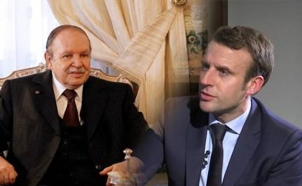 Macron salue l'engagement décisif du Président Bouteflika pour le développement du partenariat d'exception entre l'Algérie et la France