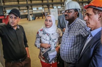 L'ambassadeur d'Ethiopie visite les usines du groupe Benhamadi