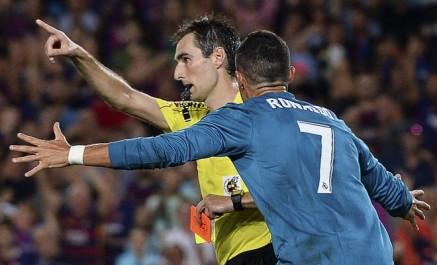 Cristiano Ronaldo suspendu cinq matches