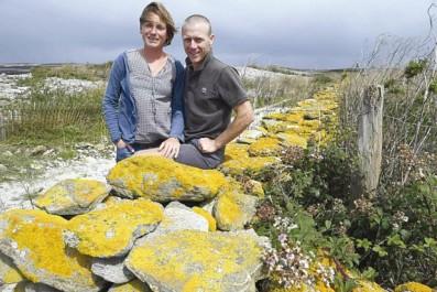 Le couple s'est engagé dans un projet Agro-Environnemental:  Dix ans sur un îlot breton désert