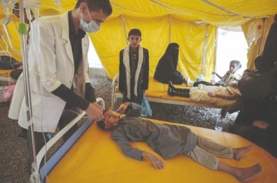 Propagation de l'épidémie de choléra au yémen: L'intervention saoudienne en cause