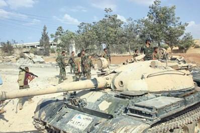 Après la récuparation de Homs:  Syrie : l'armée avance sur Deir Ezzor