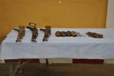 Lutte antiterroriste: Saisie d'une quantité d'armes et de munitions à Tamanrasset (MDN)