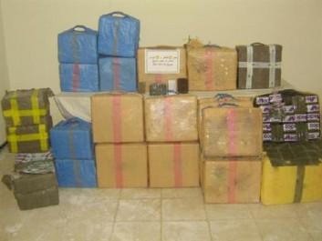 Plus de 250 kg de kif traité saisis à Tindouf et Mascara (MDN)