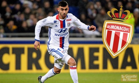 Transfert : Rachid Ghezzal à l'AS Monaco pour 4 saisons