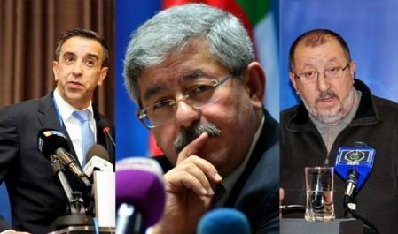 Rencontre Ouyahia-Haddad-Sidi Saïd Jeudi à Alger