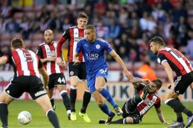 Leicester City : Slimani s'offre un doublé face à Sheffield Utd (Vidéo)