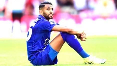 Mahrez met la pression sur Leicester