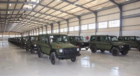 Industrie militaire: 383 véhicules multifonctions fabriqués en Algérie
