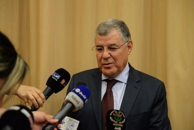 Le ministre de l'Energie reçoit le vice-président de la BAD