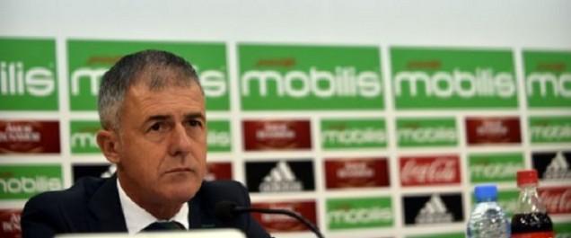 Mondial 2018: Alcaraz publie la liste des joueurs convoqués pour la double confrontation Algérie-Zambie
