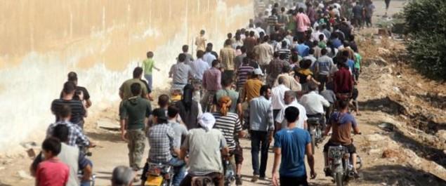 Dans l'est syrien, on fuit en masse le recrutement forcé par l'EI