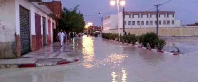 Batna: des pluies torrentielles inondent des dizaines de maisons dans la localité de Chemora