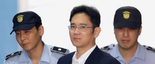 Scandale de corruption en Corée du Sud: cinq ans de prison pour l'héritier Samsung