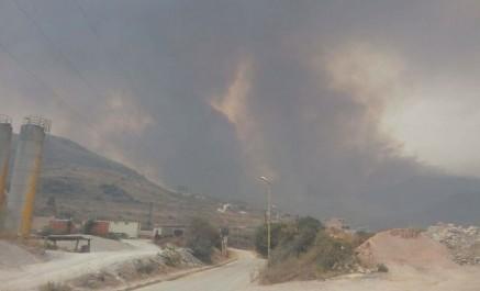 Guelma: L'incendie de Djebel Béni-Salah maîtrisé, 5 000 hectares partis en fumée
